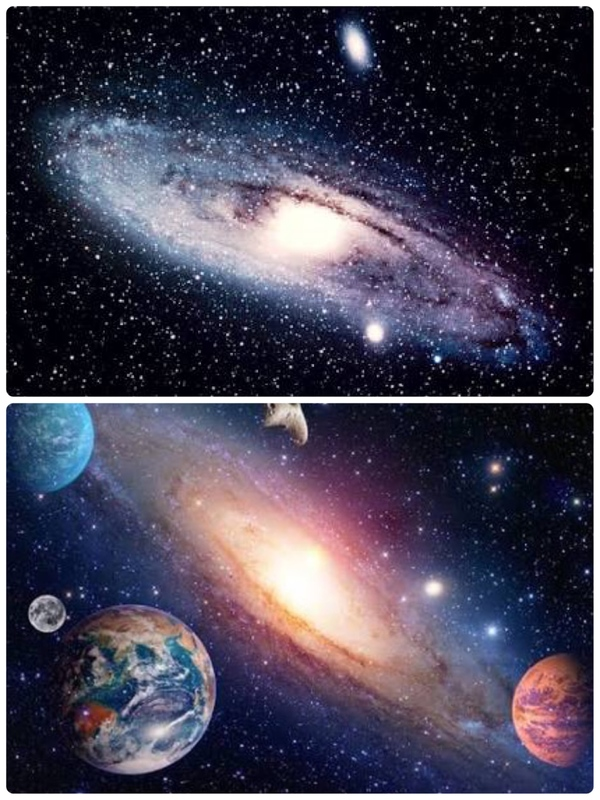 宇宙に導かれているとき